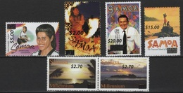 Samoa (2016) - Set - /  Overprints - Surcharges - Sellos