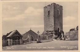 Tower And Lych Gate , HENLLAN , Denbighshire , Wales ; 00s-10s - Denbighshire