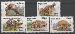 Animaux Préhistoriques - Ceratosaurus - Ankylosaurus - Gorgosaurus - Edaphosaurus