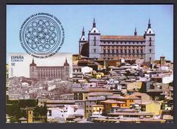 SPAIN 2014 MAXIMUM CARD WORLD HERITAGE FORTRESS ALCAZAR OF TOLEDO