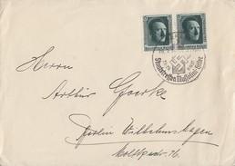 DR Brief Mef Minr.2x 650 Aus Block 11 SST Berlin 29.9.37 - Briefe U. Dokumente