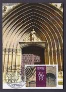 SPAIN 2014 MAXIMUM CARD. CHURCH OF ARANDA DE DUERO BURGOS SPAIN - Kirchen U. Kathedralen