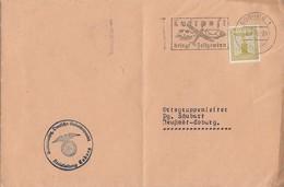 DR Dienst Brief EF Minr.D152 Coburg 6.7.38 - Dienstpost