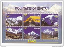 Bhutan Nº 1625 Al 1630