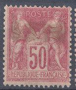 Stamp France 1898 50c Tip1 Mint Lot#7