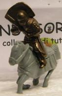 MONDOSORPRESA, KINDER FERRERO (SC35)  SOLDATINI DI METALLO A CAVALLO K97 N74, CAVALLO GRIGIO - Figurine In Metallo