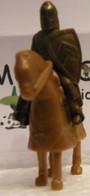 MONDOSORPRESA, KINDER FERRERO (SC35)  SOLDATINI DI METALLO A CAVALLO K97 N70, CAVALLO MARRONE - Figurine In Metallo