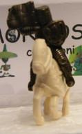 MONDOSORPRESA, KINDER FERRERO (SC35)  SOLDATINI DI METALLO A CAVALLO K97 N69, CAVALLO BIANCO - Figurine In Metallo