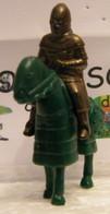 MONDOSORPRESA, KINDER FERRERO (SC35)  SOLDATINI DI METALLO A CAVALLO K97 N71, CAVALLO VERDE - Figurine In Metallo