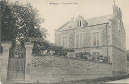 BLANZY   (Aisne) L'Ecole Des Filles - Otros Municipios