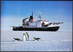 Germany Bremerhaven 1990 / Ships / Polar Research Ship Polarstern - Barcos