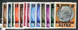 W4042  Gen.Gov. 1939  Michel #1-13*  ( 9.€ ) Offers Welcome.
