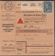 Böhmen Und Mähren NN-Karte EF Minr.107 Blanz 16.11.44 - Besetzungen 1938-45