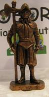MONDOSORPRESA, KINDER FERRERO (SC35)  SOLDATINI DI METALLO GUARDIE SVIZZERE N° 5 K96 N78, SENZA COSTRUZIONE - Figurine In Metallo