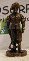 MONDOSORPRESA, KINDER FERRERO (SC35)  SOLDATINI DI METALLO GUARDIE SVIZZERE N° 6 K96 N79, SENZA COSTRUZIONE - Figurine In Metallo