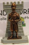 MONDOSORPRESA, KINDER FERRERO (SC35)  SOLDATINI DI METALLO GUARDIE SVIZZERE N° 2 K96 N75, COMPLETA - Figurine In Metallo