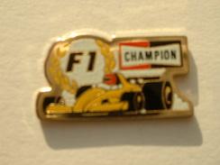 PIN´S F1 CHAMPIONS - F1