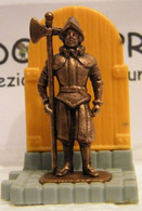 MONDOSORPRESA, KINDER FERRERO (SC35)  SOLDATINI DI METALLO GUARDIE SVIZZERE N° 5 K96 N78, COMPLETA - Figurine In Metallo