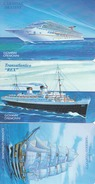 SAN MARINO - Great Ships - 1st Series-RSM 120,121,122, Tirage 4000, Mint