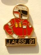 PIN´S F1 - JEAN ALESI 91 - F1