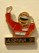PIN´S F1 - AERTON SENNA 91 - F1