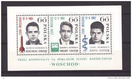 Pologne  -  Blocs  -  1964  :  Yv  41  ** - Blocks & Sheetlets & Panes