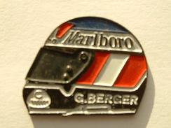 PIN´S F1 - CASQUE G.BERGER - MARLBORO - F1