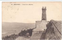 POSTAL   BELFORT  -FRANCIA  - TORRE DE LA MIOTTE  ( TOUR DE LA MIOTTE ) - Otros Municipios