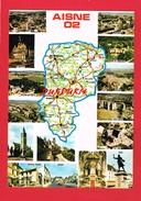 Aisne ... Carte Michelin N° 989 ... Vues ... Multi-Vues ... - France