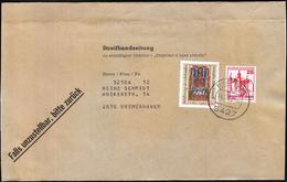 Germany Bad Ems 1980 / Newspaper Wrapper / Sent To Bremerhaven - Cultures