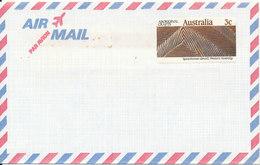 Australia Air Mail Cover 1987 Single Franked But Never Sent - Poste Aérienne