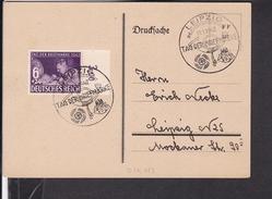 Sonderstempel  Leipzig Tag Der Briefmarke 1942