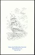 Germany Bremerhaven / Sailing Ship / Birthday Card - Vecchi Documenti