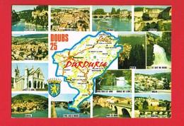 Doubs ...Carte Michelin N° 989 ... Vues ... Multi-Vues ... - Francia