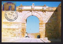 SPAIN 2013 MAXIMUM CARD ARC GATE OF GIANTS  ANTEQUERA MALAGA - Altri