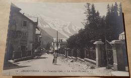 Argentières - La Grande Rue -  Le Mont Blanc - Hotel Belle Vue - Autres Communes