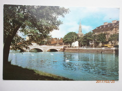 Postcard The Bridge Bedford My Ref B1912 - Bedford