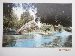 Postcard The Suspension Bridge Bedford My Ref B1913 - Bedford
