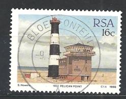 SUD AFRICA   1988 Lighthouses     USED - Usados