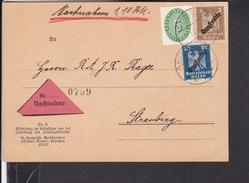 Dienstmarken Deutsches Reich Stempel Mitterfels 1928