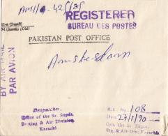 Pakistan - Recommandé/Registered Letter/Einschreiben - Karachi - Pakistan
