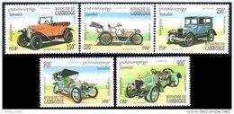 534 Cambodge Autos Automobiles Cars MNH ** Neuf SC (K-KAM-92b)