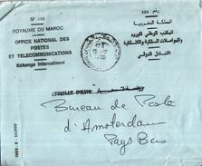 Marokko - Recommandé/Registered Letter/Einschreiben - Royaume Du Maroc