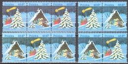 "Poland 1995 Christmas - Fi  W3565-66 ""MODEL"" - Combinations - MNH(**)"