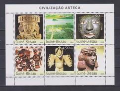 Guinea-Bissau 2003 Azteken ** - Archaeology