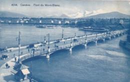 Switzerland Geneve Pont du Mont-Blanc