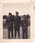 Foto Deutsche Soldaten Luftwaffe  - 2. WK - 5*4cm  (27622) - Krieg, Militär