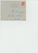 LSC 1964/  YT 1353A Sur Lettre + Cachet Tarbes      (REF 284) - Marcophilie (Lettres)