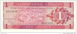 Netherlands Antilles - Pick 20 - 1 Gulden 1970 - Unc - Nederlandse Antillen (...-1986)