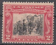 UNITED STATES     SCOTT NO. 651     MNH     YEAR  1929